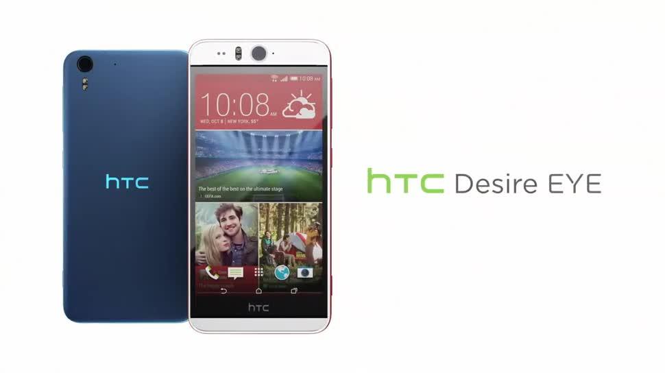 Smartphone, Android, Htc, Quadcore, Desire, Htc Desire, Qualcomm Snapdragon 801, Selfies, Selfie-Phone, HTC Eye, HTC Desire Eye, Selfie-Smartphone, Desire Eye