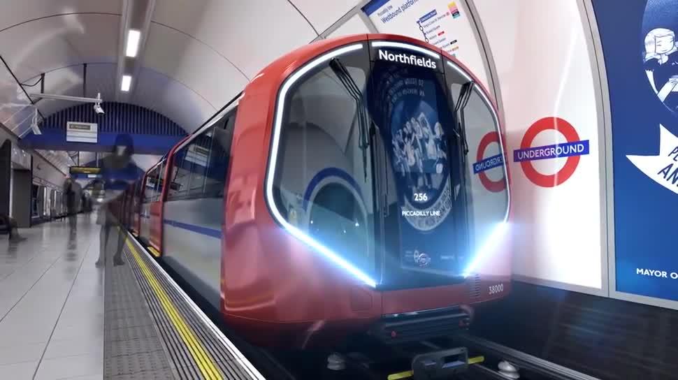 London, Verkehr, U-Bahn, Transport, Underground, Fahrerlos