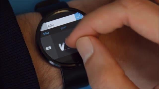 Forschung, smartwatch, Wearables, Microsoft Research, Android Wear, LG G Watch, Moto 360, handschrift, Schrifterkennung