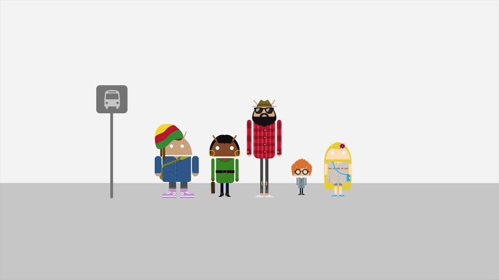 Smartphone, Google, Android, Werbespot, Werbekampagne, Be together not the same