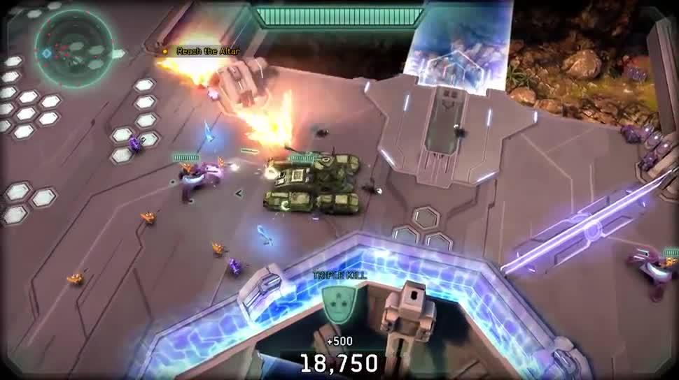 Microsoft, Trailer, Gaming, Spiel, Windows 8.1, actionspiel, Windows Phone 8.1, Halo, 343 Industries, Halo: Spartan Strike, Spartan Strike