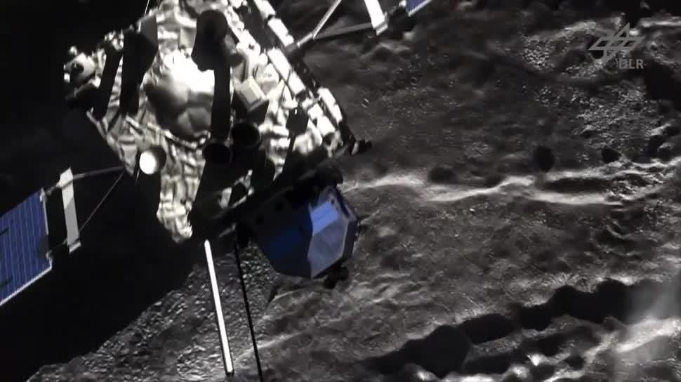 Esa, Sonde, DLR, Rosetta, Komet, 67P/Churyumov-Gerasimenko, Philae