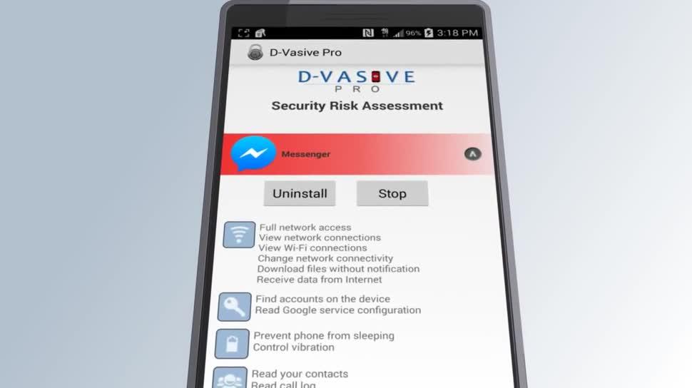 Android, Sicherheit, App, John McAfee, D-VASIVE