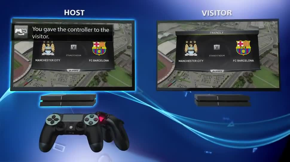 Sony, PlayStation 4, Playstation, PS4, Sony PlayStation 4, Sony PS4, Share Button, Share Play