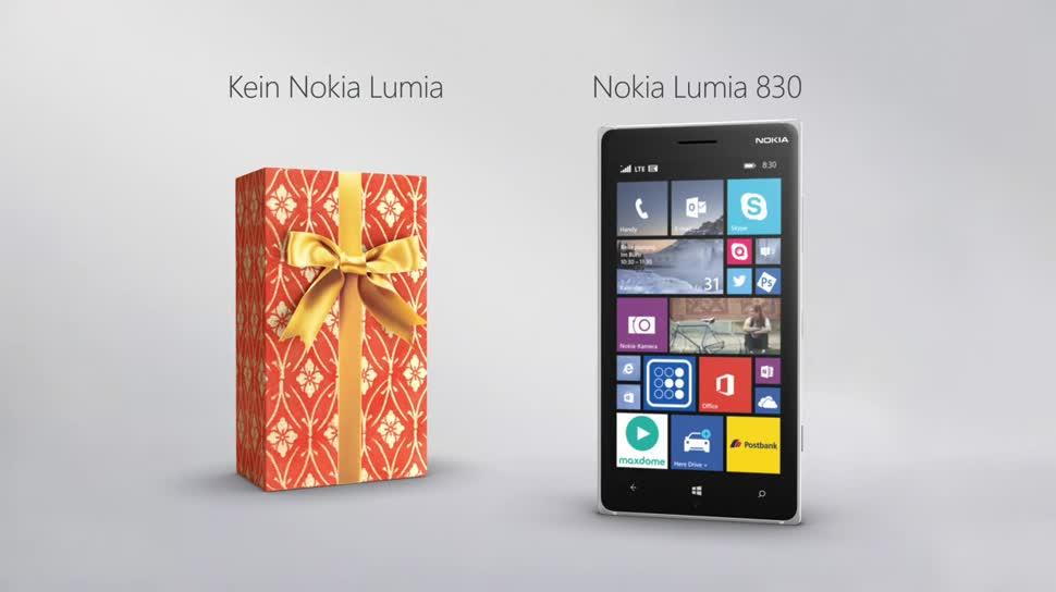 Microsoft, Smartphone, Windows Phone, Nokia, Werbespot, Windows Phone 8, Lumia, Windows Phone 8.1, Nokia Lumia, WP8, Nokia Lumia 830, Lumia 830