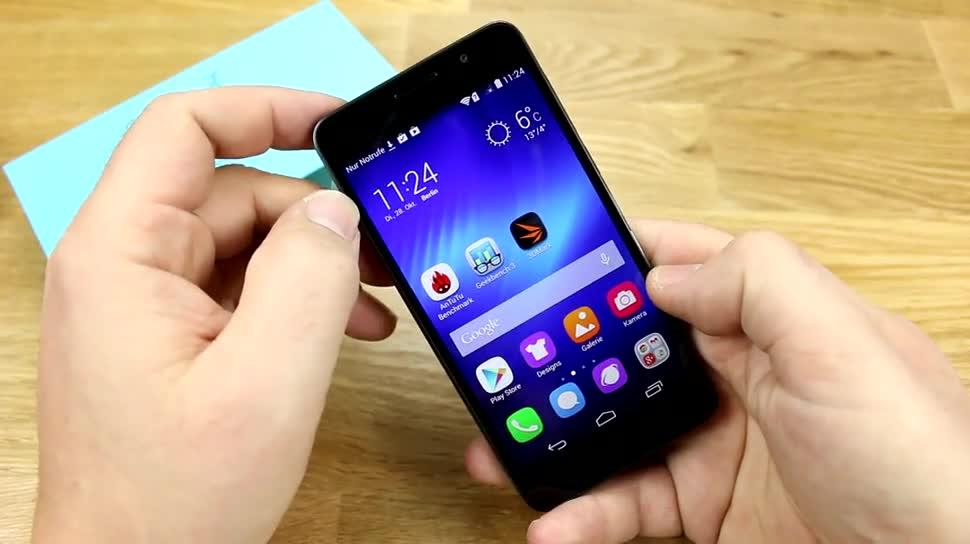 Smartphone, Huawei, Honor, Asien, Honor 6