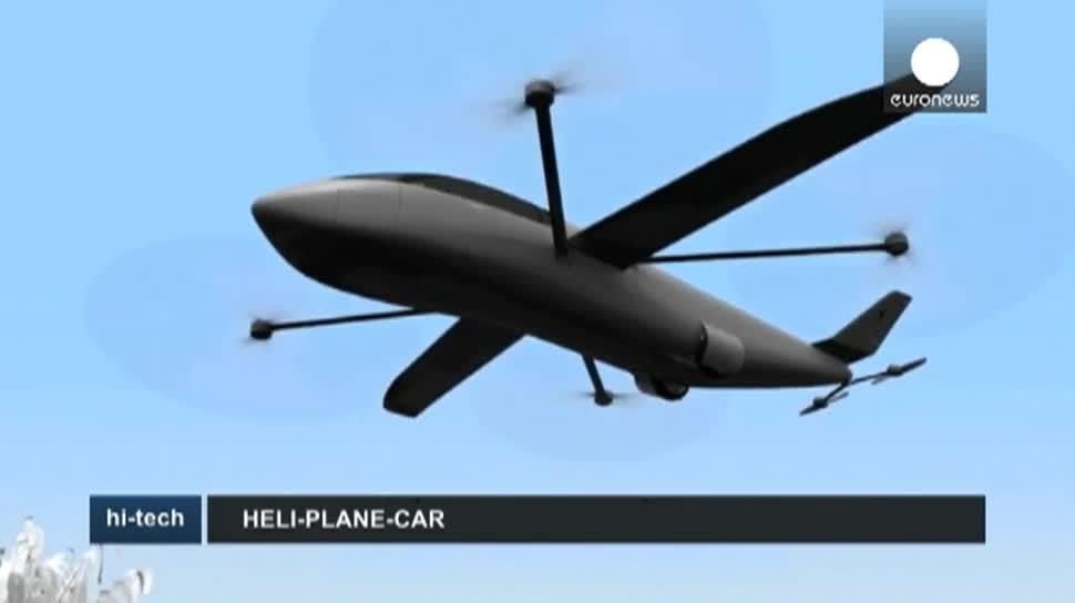 Auto, Flugzeug, Helikopter, SkyCruiser, Krossblade Aerospace Systems