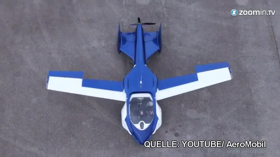 Auto, Flugzeug, fliegendes Auto, AeroMobil