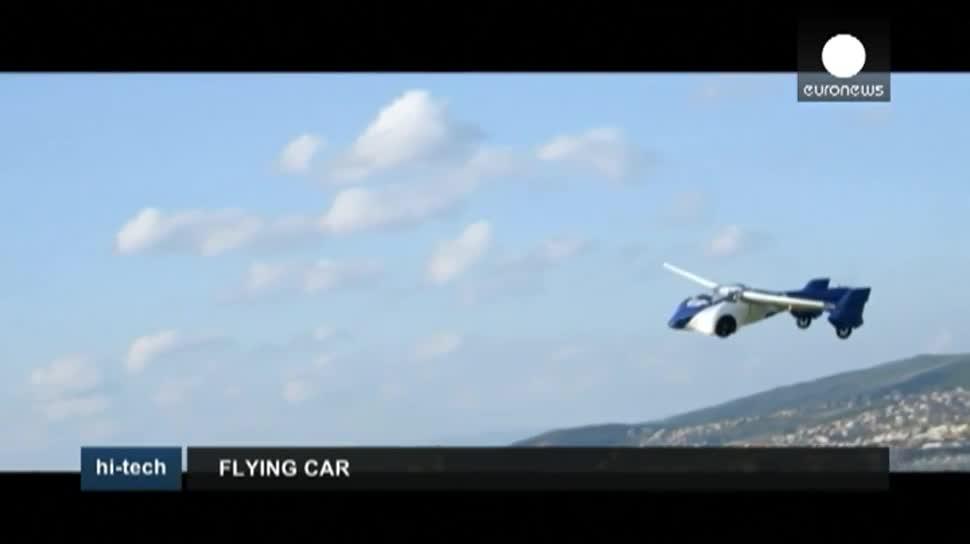 Auto, Flugzeug, fliegendes Auto, AeroMobil, AeroMobil 3.0, Stefan Klein