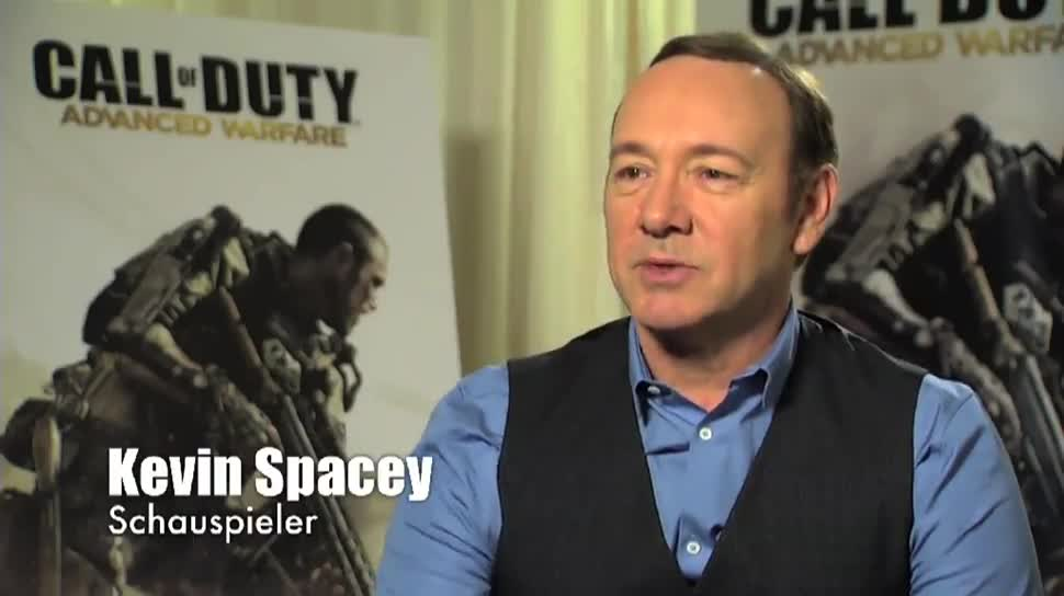 Call of Duty, Activision, Call of Duty: Advanced Warfare, Kevin Spacey