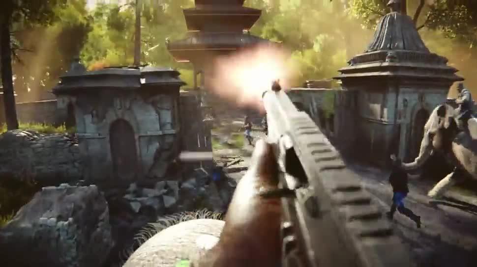 Ego-Shooter, Werbespot, Ubisoft, Far Cry, Far Cry 4