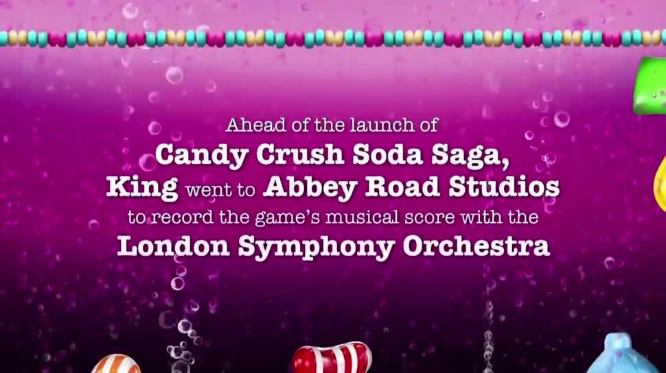Aufnahmen, King, Candy Crush Saga, London Symphony Orchestra