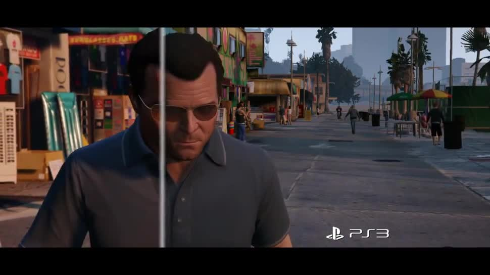Trailer, Sony, PlayStation 4, Playstation, PS4, Sony PlayStation 4, PlayStation 3, PS3, Sony PS4, Rockstar Games, Rockstar, GTA 5, Gta, Grand Theft Auto, Grand Theft Auto 5, Grand Theft Auto V