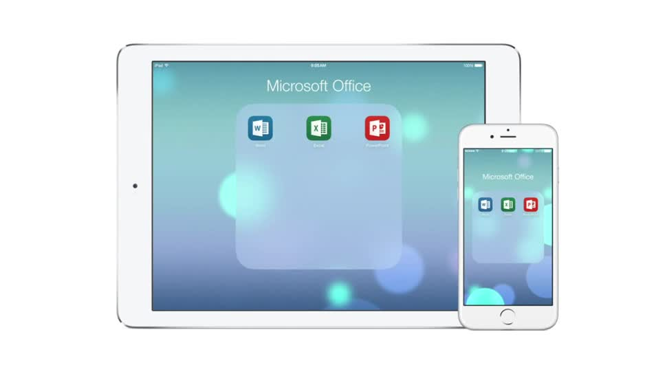 Microsoft, Apple, Iphone, iOS, Ipad, Office, Apple iPhone, Apple Ipad, Cloudsynchronisation, Microsoft Office, Word, Excel, Powerpoint