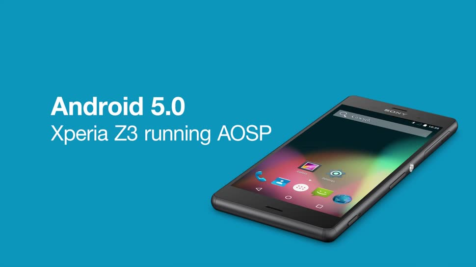 Smartphone, Sony, Lollipop, Android 5.0, Xperia Z3, ASOP