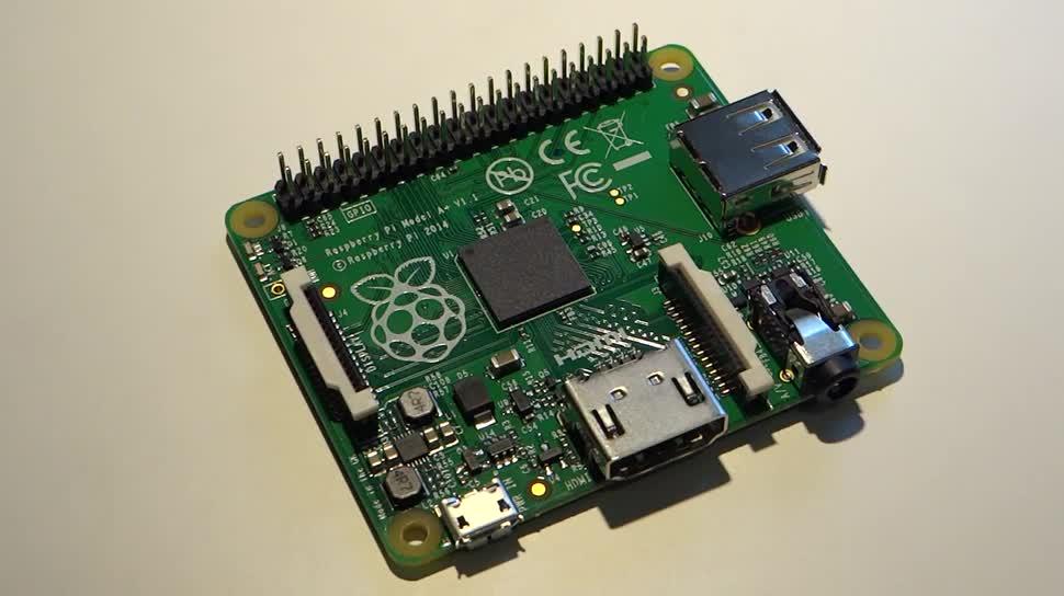 mini-pc, raspberry pi, minirechner, Raspberry Pi Model A+