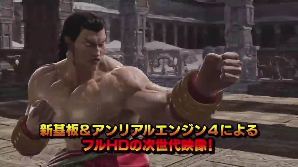 Trailer, Gameplay, Japan, Namco Bandai, Prügelspiel, Arcade, Tekken, Tekken 7, Spielhalle, Spielautomat