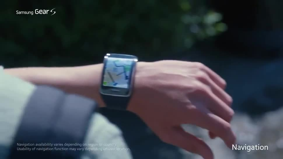Werbespot, smartwatch, Uhr, Wearables, Armbanduhr, Android Wear, Gear S, Samsung Gear S