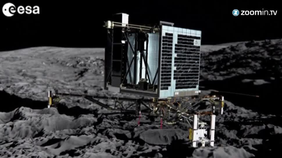 Esa, Sonde, DLR, Rosetta, Komet, 67P/Churyumov-Gerasimenko, Philae, Kometen