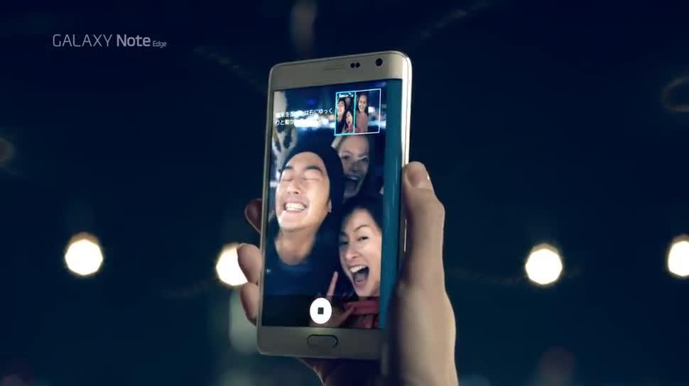 Smartphone, Android, Samsung, Werbespot, Samsung Galaxy, Galaxy, Japan, Samsung Mobile, Samsung Galaxy Note Edge, Galaxy Note Edge