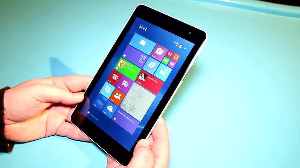 Tablet, Windows 8.1, Test, Hands-On, Quadcore, Dell, Hands on, Review, Windows 8.1 Tablet, Intel Atom Z3735, Dell Venue 8 Pro, Dell Venue 8 Pro 3000