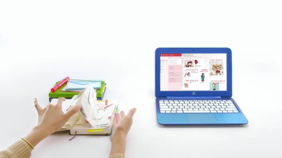 Microsoft, Notebook, Laptop, Hp, Office 365, Hewlett-Packard, Cloud-Speicher, Hewlett Packard, Notizbuch, HP Stream, Office 365 Personal