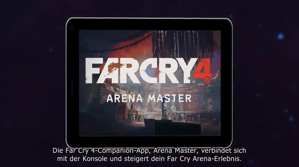 Trailer, App, Ubisoft, Far Cry, Far Cry 4, Companion-App, Arena Master