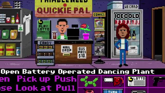 Spiel, Adventure, Maniac Mansion, Thimbleweed Park, Point and Click
