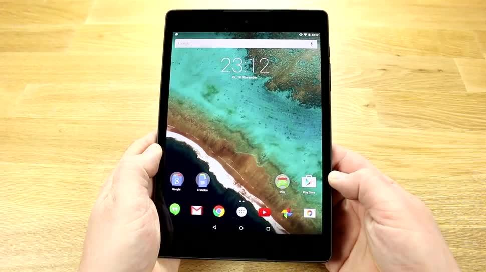Tablet, Test, Nvidia, Nexus, Review, Dualcore, 64-Bit, 64 Bit, Nexus 9, Tegra K1, Nvidia Tegra K1, HTC Nexus 9, Google Nexus 9, K1