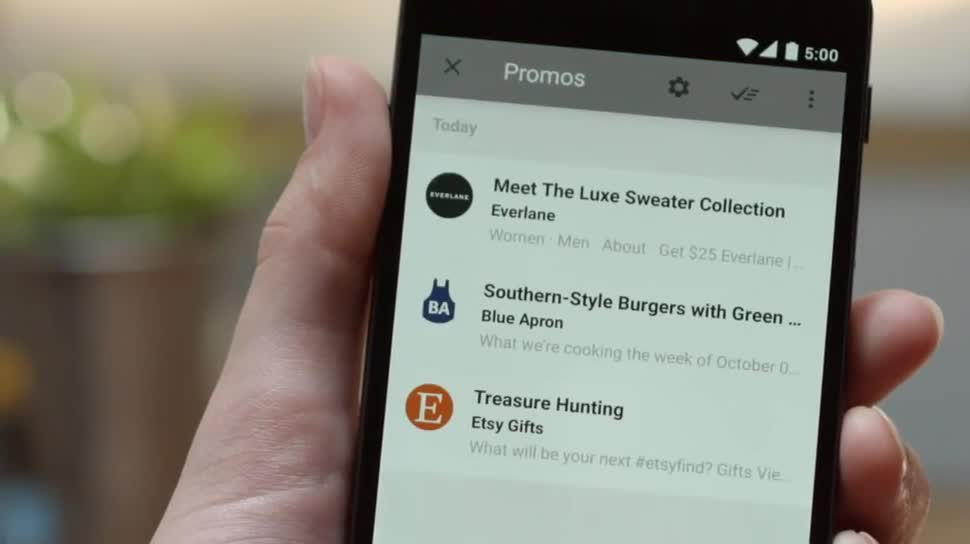 E-Mail, Inbox, Google Inbox, Google Inbox by Gmail, dynamische Erinnerungen