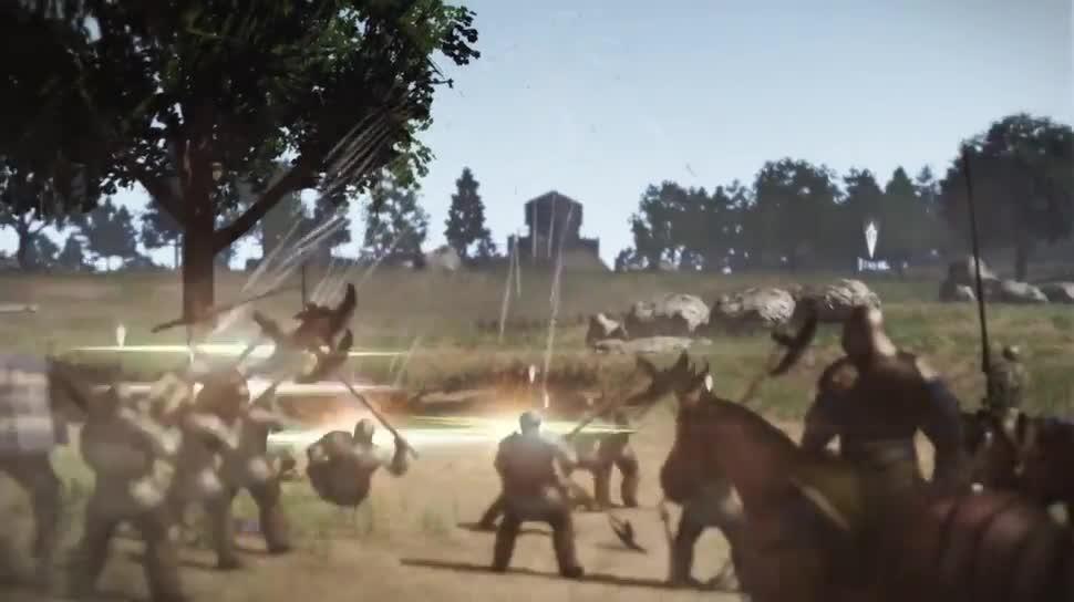 Trailer, Strategiespiel, Tecmo Koei, Bladestorm: Nightmare, Bladestorm