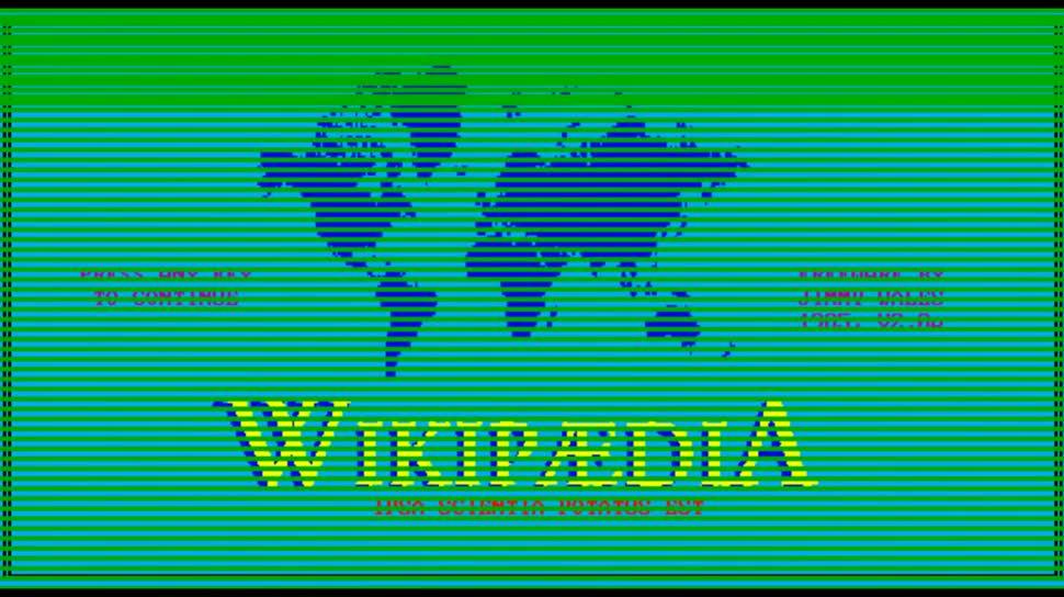 Wikipedia, Lexikon, Scherz, SquirrelMonkeyCom, Jo Luijten, Kinna McInroe