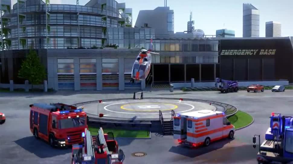 Trailer, Simulation, Deep Silver, Emergency 5, Emergency
