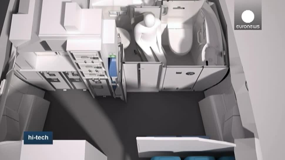 Flugzeug, Airbus, Flugzeuge, Flugsimulator, Rollstuhl, Toiletten, eingeschränkte Mobilität, Rollstuhlfahrer, A320, Space-Flex, Marc Muller, Igor Perne, Cyprus, Cyprus Airways, Ljubljana