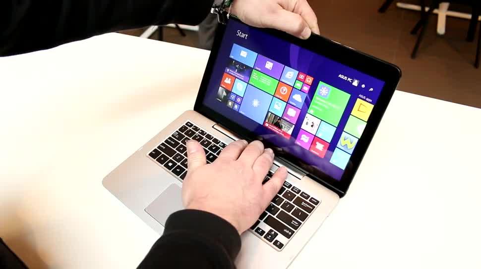 Tablet, Notebook, Intel, Laptop, Windows 8.1, Asus, Hands-On, 2-in-1, Dock, Intel Core M, Keyboard-Dock, Transformer, Tastatur-Dock, ASUS Transformer, ASUS Transformer Pad T300FA, ASUS Transformer Pad T300