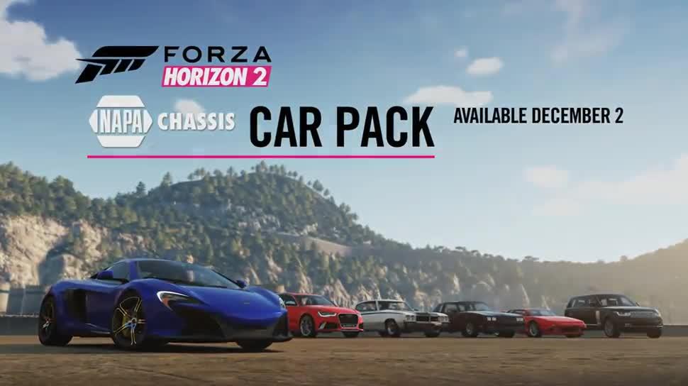 Microsoft, Trailer, Xbox, Xbox One, Microsoft Xbox One, Rennspiel, Dlc, Forza, Forza Horizon 2, NAPA Chassis Car Pack