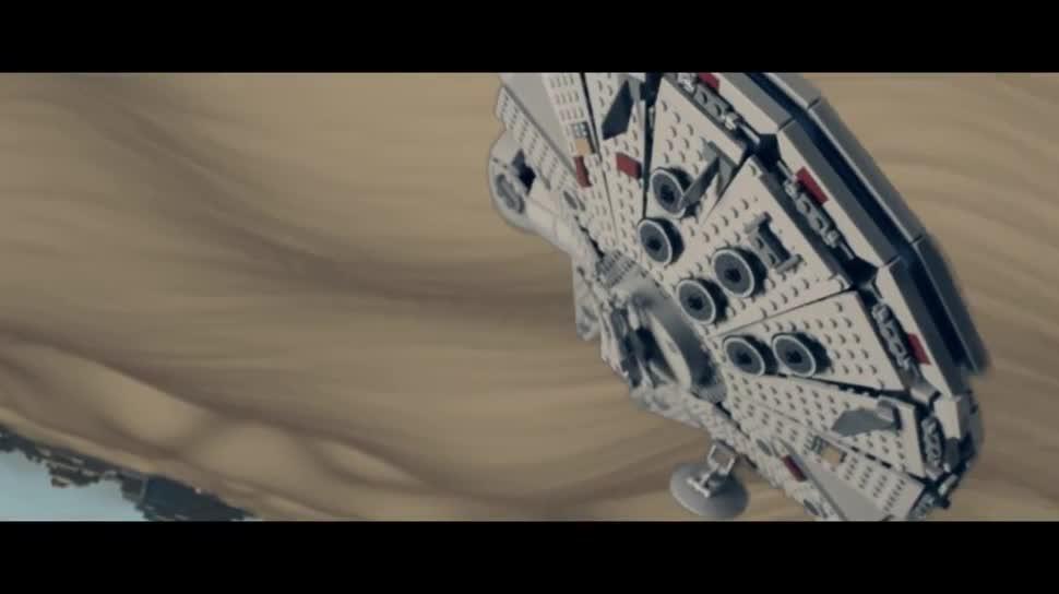 Trailer, Star Wars, Lego, Episode VII