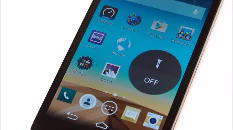 Smartphone, Android, LG, Test, Hands-On, Hands on, ValueTech, Review, LG L Fino