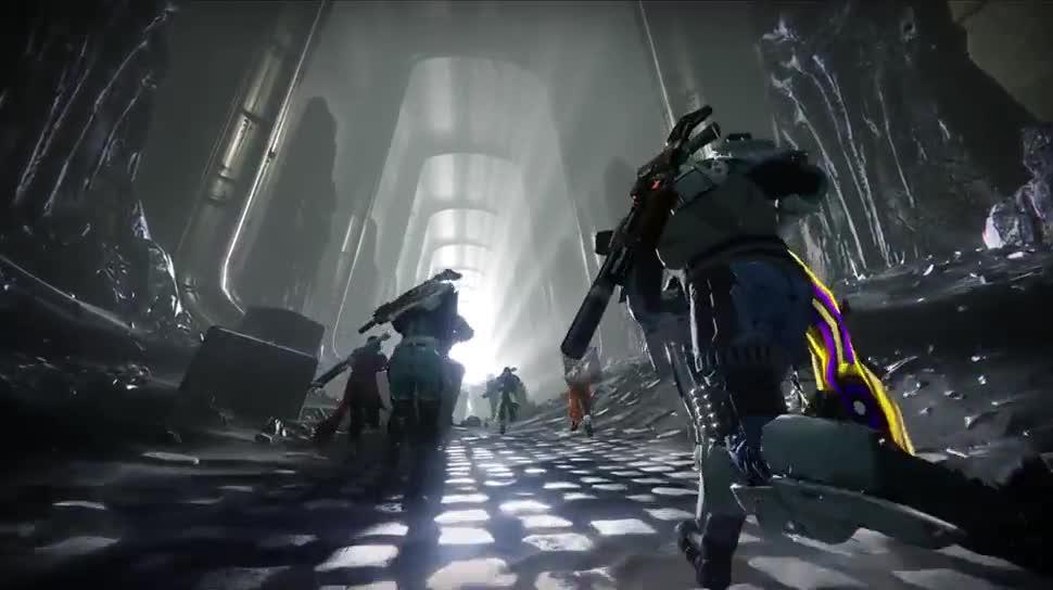 Trailer, Ego-Shooter, Online-Spiele, Activision, Bungie, Destiny, Dunkelheit lauert
