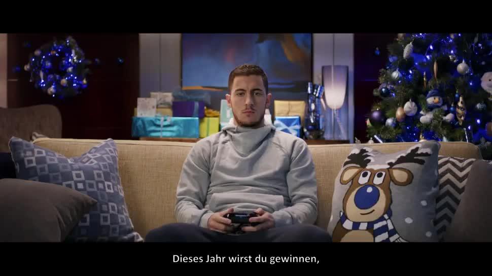 Electronic Arts, Ea, Werbespot, Fußball, EA Sports, Fifa, Weihnachten, FIFA 15, Lionel Messi, Eden Hazard