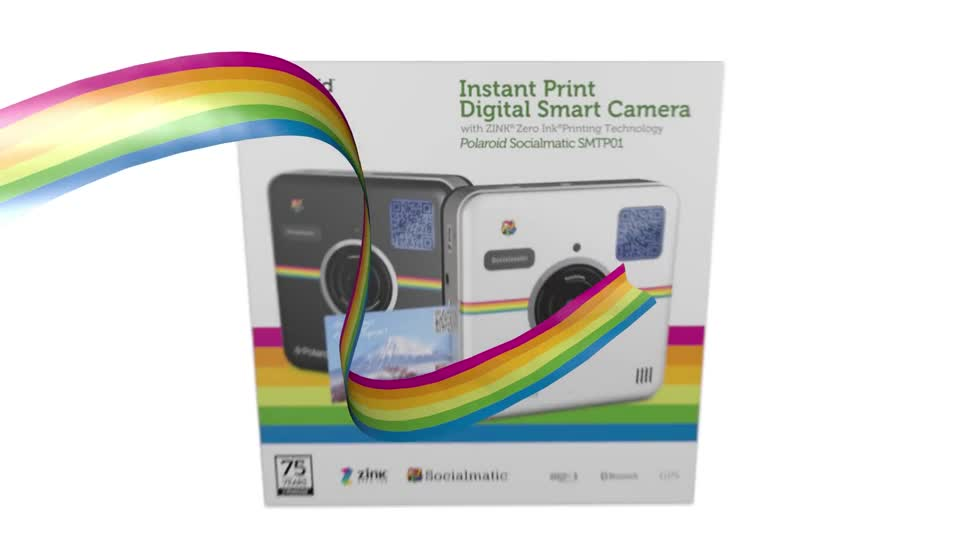 Kamera, Instagram, Polaroid, Sofortbild, Socialmatic, Zink, Polaroid Socialmatic