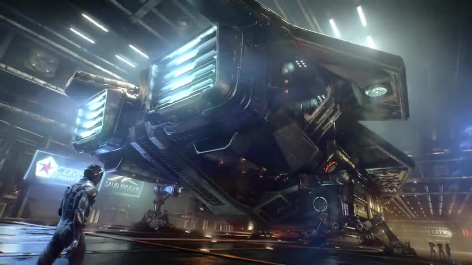 Trailer, Weltraumsimulation, Elite: Dangerous, Frontier Developments