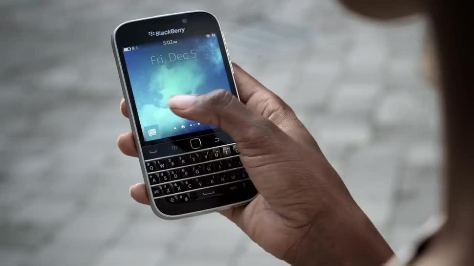 Smartphone, Tastatur, Blackberry, Blackberry Classic