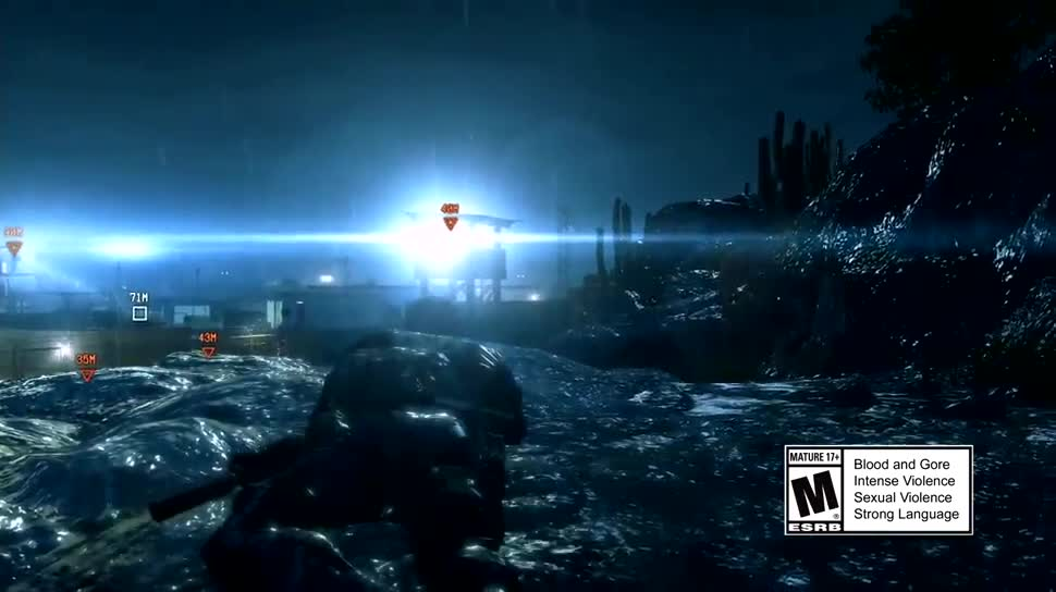 Trailer, actionspiel, Konami, Metal Gear Solid, Hideo Kojima, Metal Gear Solid 5, Ground Zeroes