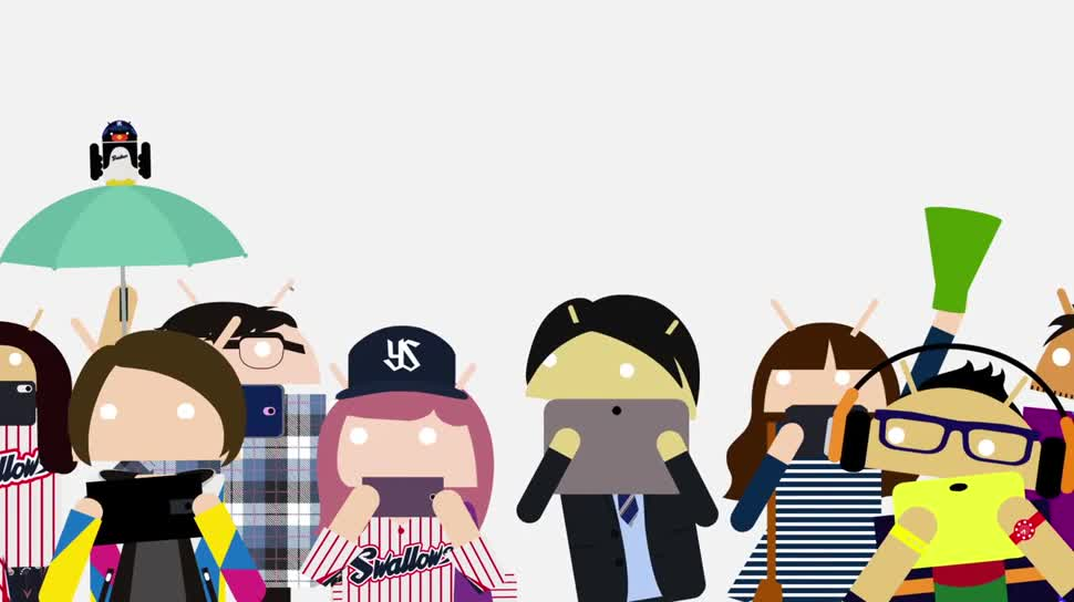 Smartphone, Google, Android, Werbespot, Fernsehen, Japan, Werbekampagne, Be together not the same, 1seg