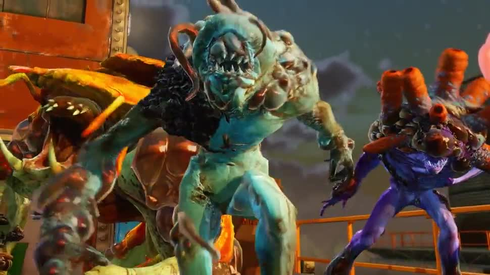 Microsoft, Trailer, Xbox, Xbox One, actionspiel, Microsoft Xbox One, Dlc, Sunset Overdrive, Insomniac Games, The Mystery of Mooil Rig