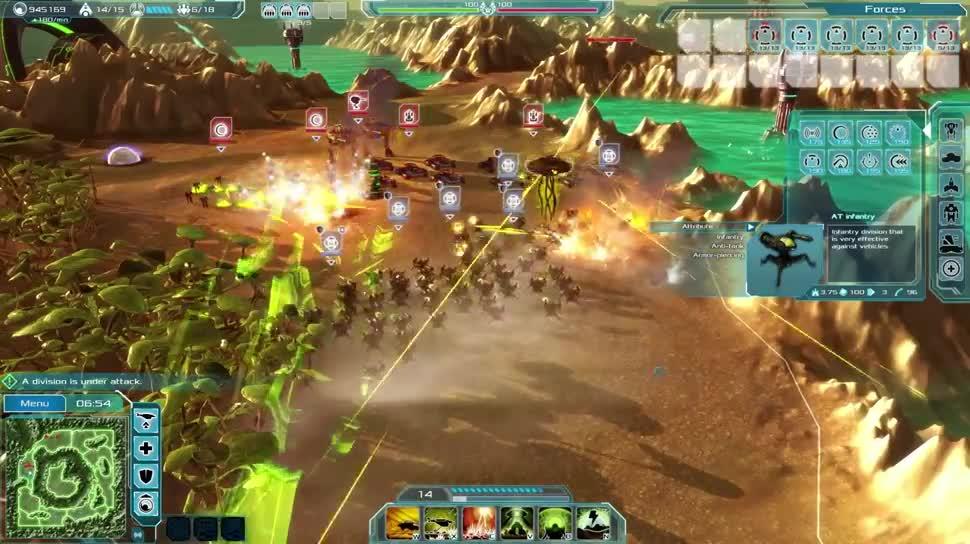 Trailer, Gameplay, Strategiespiel, Focus Interactive, Etherium