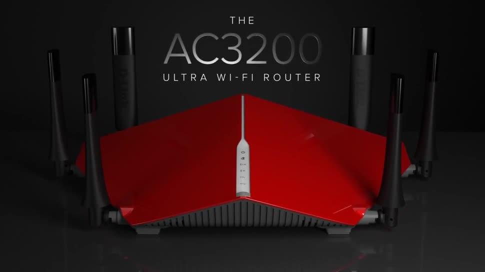 Ces, Router, wlan-router, Ces 2015, D-Link, AC3200, D-Link AC3200, AC3200 DIR-890L/R
