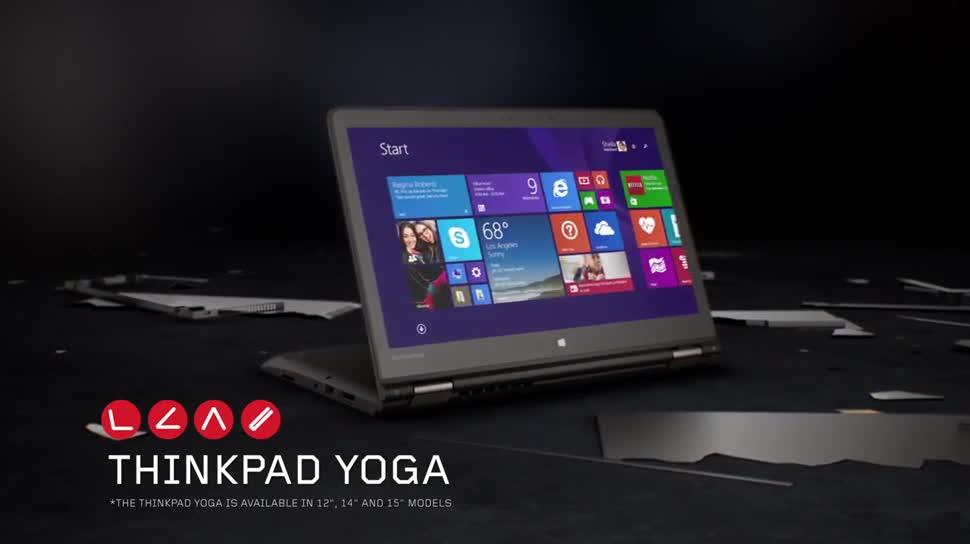 Werbespot, Lenovo, Ces, Ultrabook, Thinkpad, Ces 2015, Lenovo ThinkPad, Yoga, Lenovo Yoga