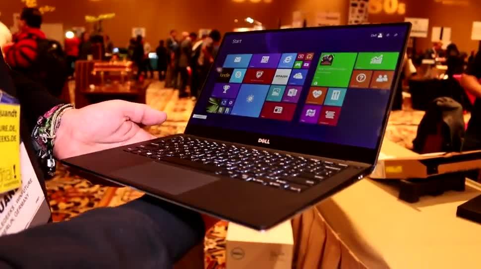 Notebook, Ces, Dell, Ces 2015, Dell XPS 13, Xps, XPS 13, Kompakt